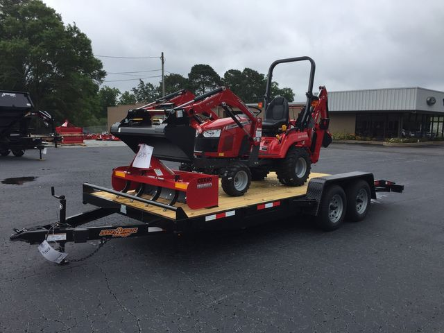 2019 Massey Ferguson GC1723EB Tractor Package