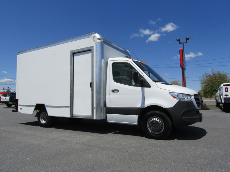 2019 Mercedes-Benz 3500  14' Box Truck with Side Door in Ephrata PA
