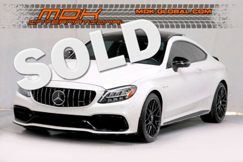 2019 Mercedes-Benz AMG C 63 S - EXTREMELY WELL OPTIONED in Los Angeles