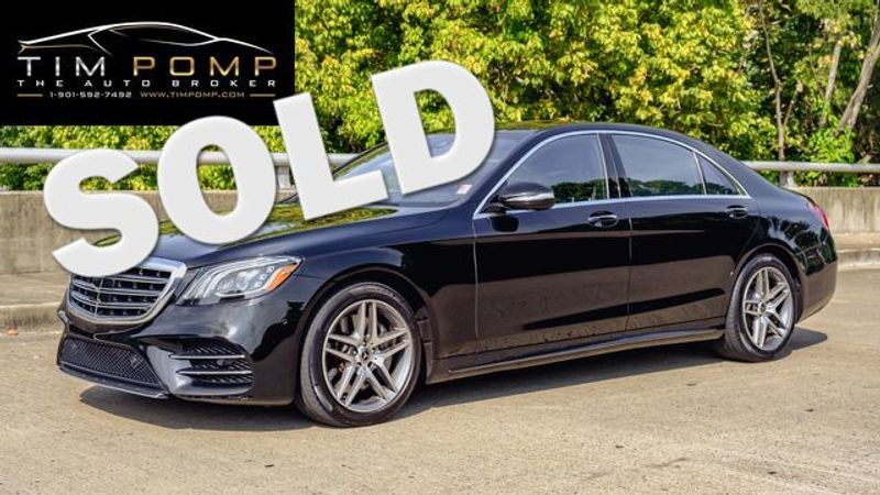2019 Mercedes-Benz S 560 AMG LINE PKG PANO ROOF 20K IN UPGRADES   Memphis, Tennessee   Tim Pomp - The Auto Broker in Memphis Tennessee