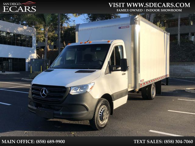2019 Mercedes-Benz Sprinter Cab Chassis Box Truck