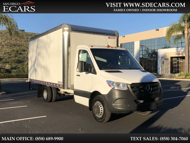 2019 Mercedes-Benz Sprinter Cab Chassis Box Truck in San Diego, CA 92126