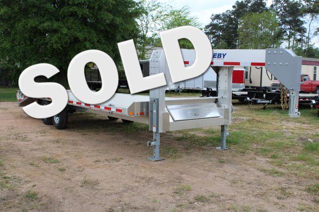 2019 Eby 24.5 GN 7K Equipment Goose neck trailer 15,900 GVWR Deck Over CONROE, TX 0