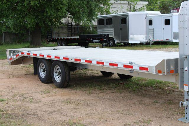 2019 Eby 24.5 GN 7K Equipment Goose neck trailer 15,900 GVWR Deck Over CONROE, TX 1