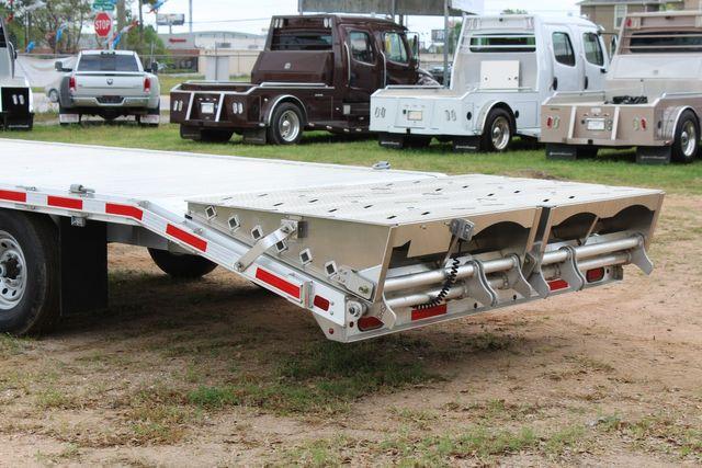 2019 Eby 24.5 GN 7K Equipment Goose neck trailer 15,900 GVWR Deck Over CONROE, TX 10