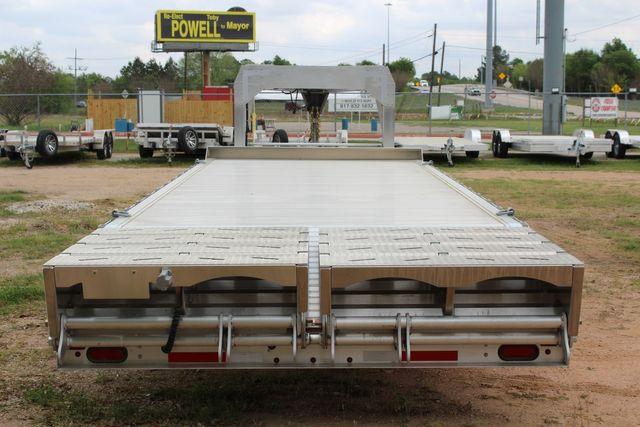2019 Eby 24.5 GN 7K Equipment Goose neck trailer 15,900 GVWR Deck Over CONROE, TX 12