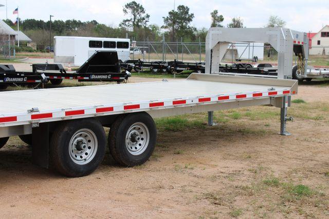 2019 Eby 24.5 GN 7K Equipment Goose neck trailer 15,900 GVWR Deck Over CONROE, TX 17