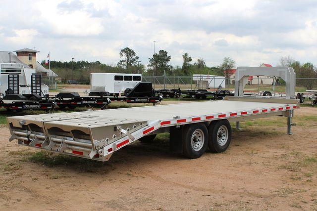 2019 Eby 24.5 GN 7K Equipment Goose neck trailer 15,900 GVWR Deck Over CONROE, TX 18
