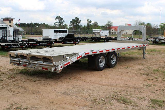 2019 Eby 24.5 GN 7K Equipment Goose neck trailer 15,900 GVWR Deck Over CONROE, TX 19