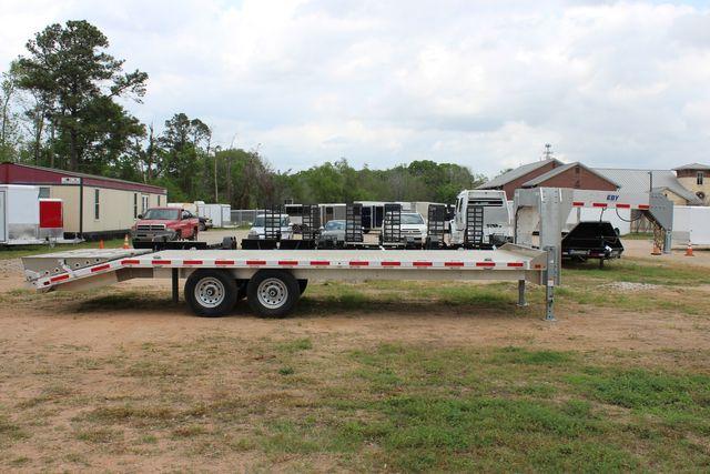 2019 Eby 24.5 GN 7K Equipment Goose neck trailer 15,900 GVWR Deck Over CONROE, TX 20