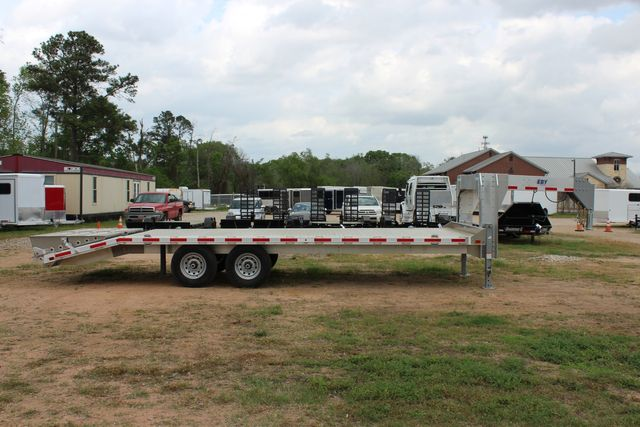 2019 Eby 24.5 GN 7K Equipment Goose neck trailer 15,900 GVWR Deck Over CONROE, TX 21