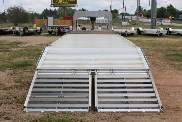 2019 Eby 24.5 GN 7K Equipment Goose neck trailer 15,900 GVWR Deck Over CONROE, TX 13