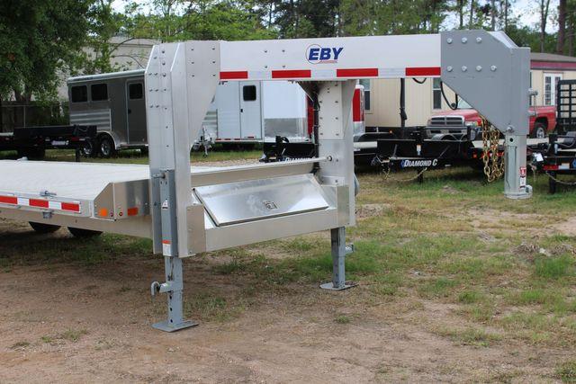2019 Eby 24.5 GN 7K Equipment Goose neck trailer 15,900 GVWR Deck Over CONROE, TX 2