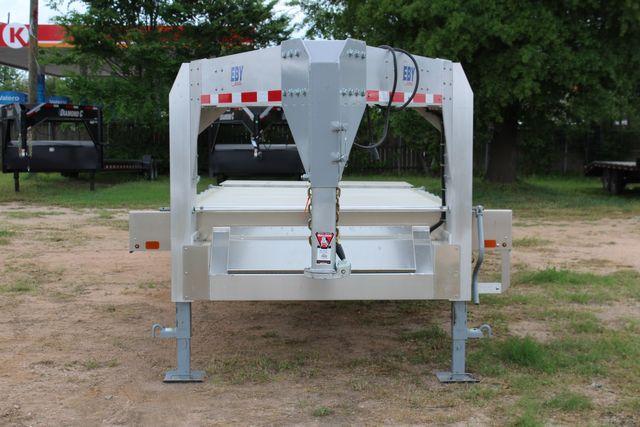 2019 Eby 24.5 GN 7K Equipment Goose neck trailer 15,900 GVWR Deck Over CONROE, TX 3