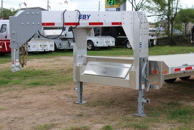 2019 Eby 24.5 GN 7K Equipment Goose neck trailer 15,900 GVWR Deck Over CONROE, TX 4