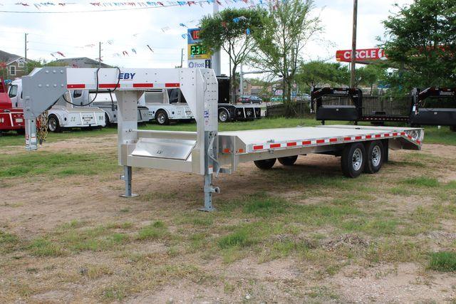 2019 Eby 24.5 GN 7K Equipment Goose neck trailer 15,900 GVWR Deck Over CONROE, TX 6