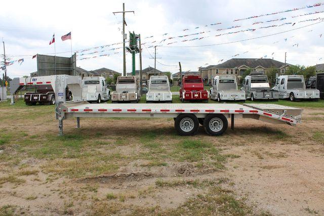 2019 Eby 24.5 GN 7K Equipment Goose neck trailer 15,900 GVWR Deck Over CONROE, TX 7