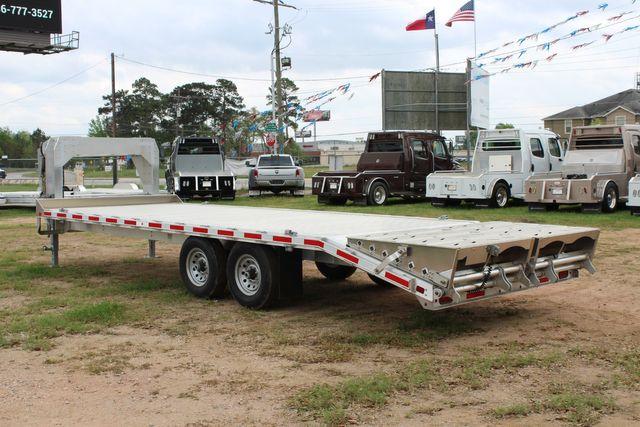 2019 Eby 24.5 GN 7K Equipment Goose neck trailer 15,900 GVWR Deck Over CONROE, TX 8