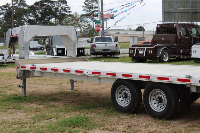 2019 Eby 24.5 GN 7K Equipment Goose neck trailer 15,900 GVWR Deck Over CONROE, TX 9