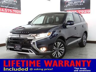 2019 Mitsubishi Outlander SEL, NAV, LEATHER/CLOTH SEATS, SUNROOF in Carrollton, TX 75006
