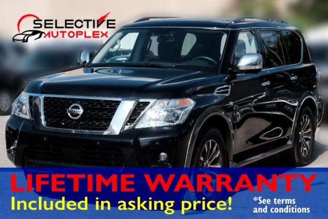 2019 Nissan Armada SL, NAV, LEATHER SEATS, SUNROOF, 3RD ROW SEATS in Carrollton, TX 75006