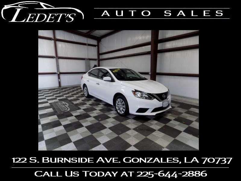 2019 Nissan Sentra S - Ledet's Auto Sales Gonzales_state_zip in Gonzales Louisiana