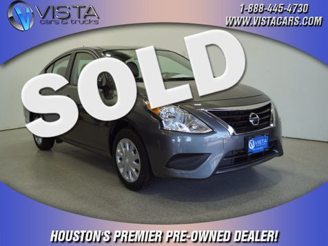 2019 Nissan Versa Sedan SV in Houston, Texas