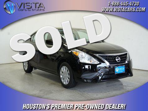 2019 Nissan Versa Sedan SV in Houston, Texas