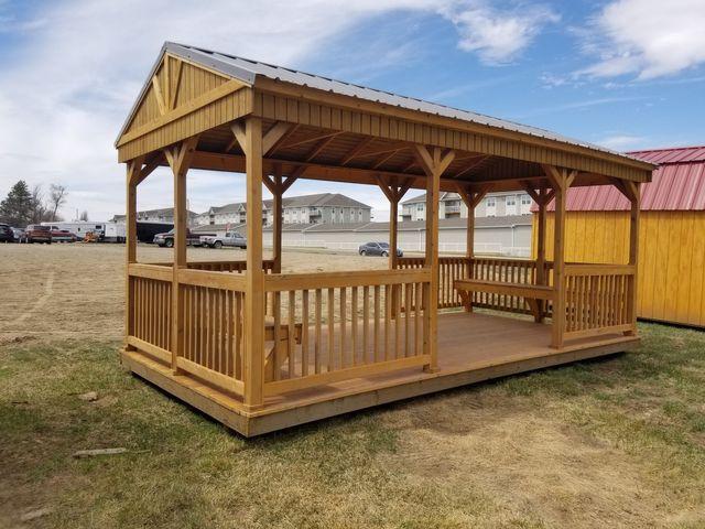 2020 Old Hickory Sheds 10x20 Cabana