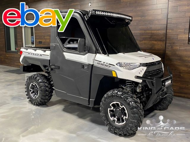 2019 Polaris Xp Ranger 1000 NORTHSTAR EDITION HVAC 4X4 LIKE NEW LOW MILES WOW