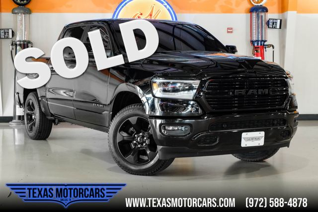 2019 Ram 1500 Big Horn Black 4x4 in Plano, TX 75075