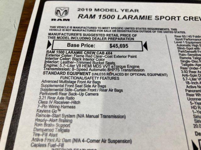 2019 Ram All-New 1500 Laramie Sport in Boerne, Texas 78006