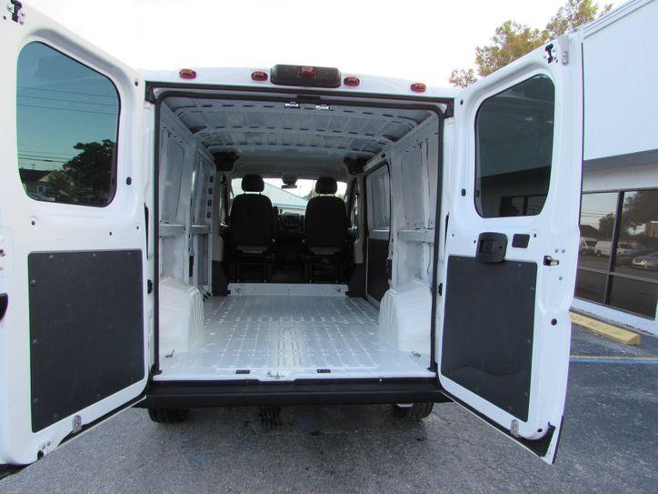 dodge ram promaster cargo van spacious cargo area