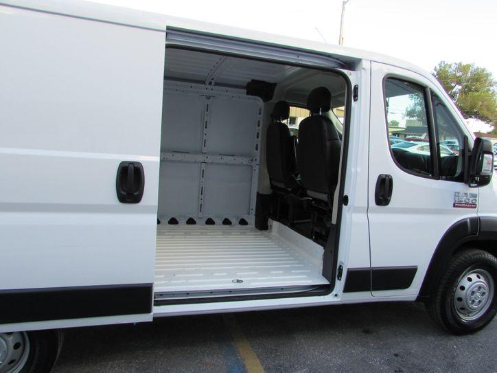 ram cargo right door cargo area view