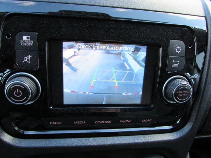 ram promaster van rear backup camera
