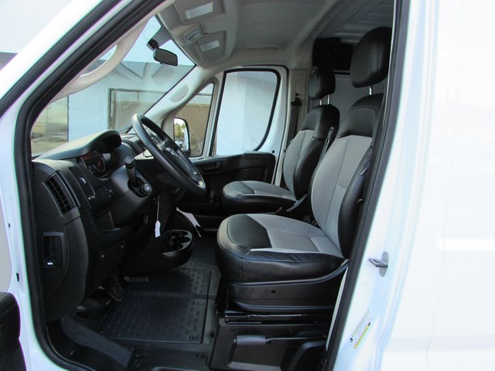 ram promaster drivers interior view
