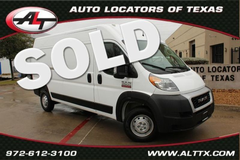 2019 Ram ProMaster Cargo Van High Roof | Plano, TX | Consign My Vehicle in Plano TX