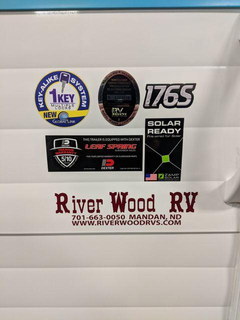 2019 Riverside Rv White Water Retro 176S Mandan, North Dakota 2