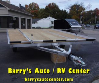 2019 Sno Pro Extreme Flat Deck Snowmobile Trailer in Brockport, NY 14420