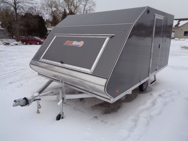 2019 Sno Pro Hybrid Snowmobile Trailer 101 x 12 Hyrbid in Brockport, NY 14420