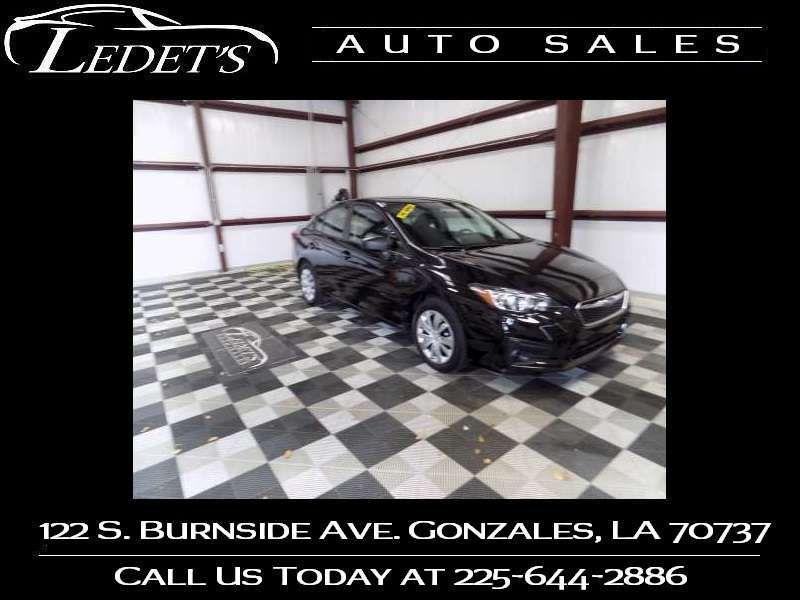 2019 Subaru Impreza  - Ledet's Auto Sales Gonzales_state_zip in Gonzales Louisiana