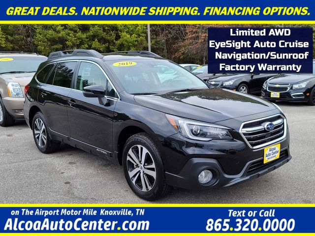 2019 Subaru Outback Limited AWD EyeSight Auto Cruise Navi/Sunroof