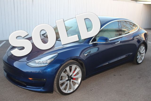2019 Tesla Model 3 Long Range(PERFORMANCE EDITION) Houston, Texas 0