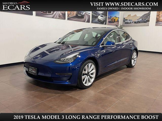 2019 Tesla Model 3 Long Range Performance Boost