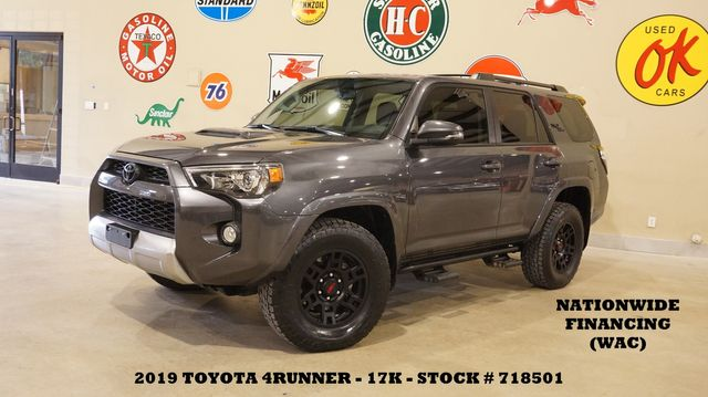 2019 Toyota 4Runner TRD Off Road Premium 4X4 ROOF,NAV,HTD LTH,17K