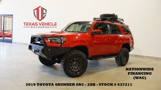 2019 Toyota 4Runner SR5 4X4 LIFTED,BUMPERS,NAV,28K,WE FINANCE in Carrollton, TX 75006