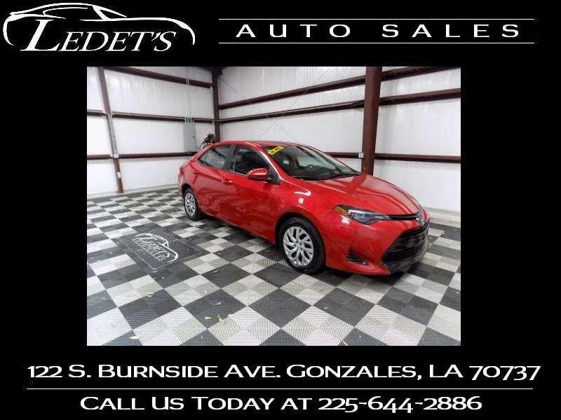 2019 Toyota Corolla LE - Ledet's Auto Sales Gonzales_state_zip in Gonzales Louisiana