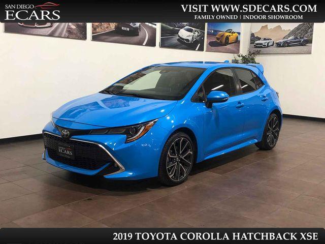 2019 Toyota Corolla Hatchback XSE in San Diego, CA 92126