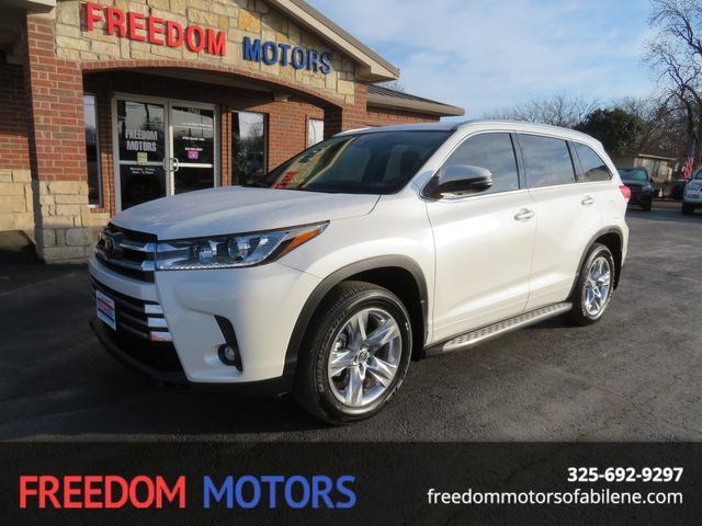 2019 Toyota Highlander Limited | Abilene, Texas | Freedom Motors  in Abilene,Tx Texas