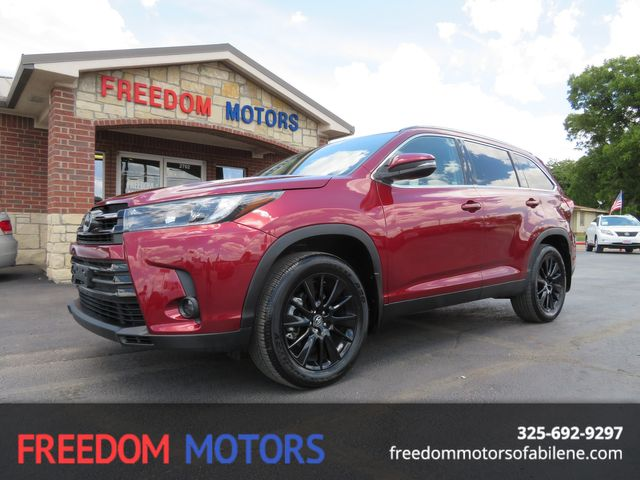 2019 Toyota Highlander SE in Abilene,Tx, Texas 79605